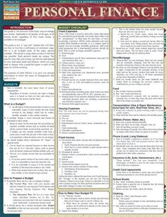 This 4-page guide is a great overview of the many ways to manage your money. It is a perfect resource for people of all ages and income levels. Browse and download thousands of educational eBooks, worksheets, teacher presentations, practice tests and more at Examville.com - The Education Marketplace