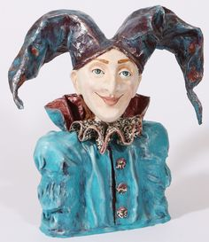 the jester-paper mache