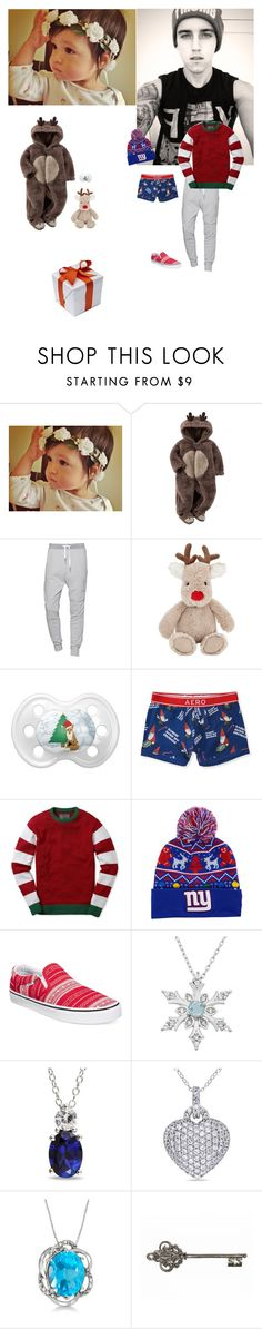 """""""Yep shopping with Olivia"""" by caiden-alexander-chance ❤ liked on Polyvore featuring Brooks, Carter's, True Religion, John Lewis, Aéropostale, Ugly Christmas Sweater, New Era, Vans, Ice and Allurez"""