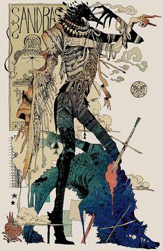 Artwork by Japanese Illustrator Akiya Kageichi Kunst Inspo, Art Inspo, Comic Kunst, Comic Art, Art And Illustration, Fantasy Kunst, Fantasy Art, Asian Art, Love Art