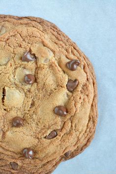 One Giant Chocolate Chip Cookie — Sprinkled With Jules
