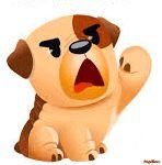 Gif Animé, Animated Gif, Naughty Emoji, Emoticon Faces, Gifs, Friends Gif, Halloween Trick Or Treat, Cute Gif, Tigger