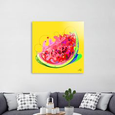 Discover «watermelon», Numbered Edition Acrylic Glass Print by M.ORE - From $75 - Curioos