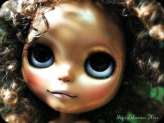 Meadow, OOAK Ethnic Custom Blythe Art Doll