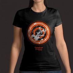 Tshirt-Ladies Shot from both sides Both Sides, Shots, T Shirts For Women, Lady, Mens Tops, Fashion, Moda, Fashion Styles, Fashion Illustrations
