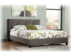 123Masterton 3 Pc King Upholstered Bed