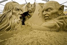 Sandworld at Lodmoor Country Park in Weymouth, Dorest   Western Morning News