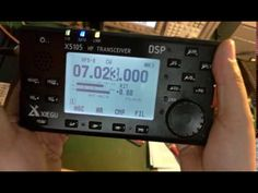 Xiegu X5105 HF+6m Transceiver [ First Pictures and Video ] | QRZ Now – Ham Radio News!