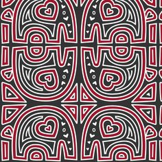 Elephant Mola (Red