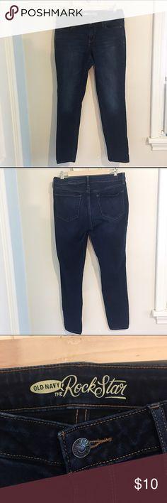 Old Navy Skinny Jeans Dark Wash Old Navy Skinny Jeans. Size 12 Regular.      {004} Old Navy Jeans Skinny