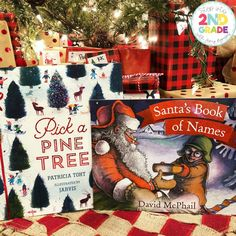Pick a Pine Tree by Patricia is the perfect read before students create ornaments.