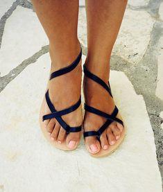 Женские сандалии.Натуральная кожа.Ручная работа.Греция.