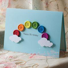 Buy Christmas three-dimensional greeting cards handmade cards personalized custo… - Regalos Hechos A Mano Homemade Birthday Cards, Happy Birthday Cards, Homemade Cards, Card Birthday, Birthday Greetings, Birthday Ideas, Birthday Cards From Kids, Birthday Greeting Cards Handmade, Creative Birthday Cards