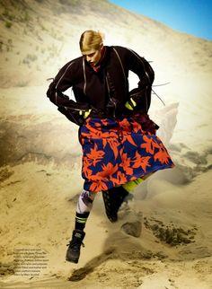 Elle Canada November 2014 | Sam Raynor by Leda & St. Jacques [Editorial]
