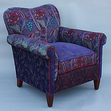 """Molly Rose Chair in Concord by Mary Lynn O'Shea (Upholstered Chair) (35"""" x 33"""")"""