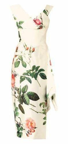 66c9727c297 Prestige floral-print silk satin dress Satin Dresses