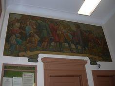 New Castle Delaware Post Office Mural