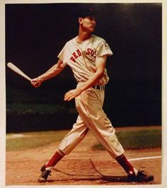 On the Cover: Ted Williams, Baseball, Boston Red Sox Photographed by: Arthur Griffin / Griffin Museum of Photography Boston Sports, Boston Red Sox, Dandy, Si Cover, Sports Illustrated Covers, Red Sox Nation, Baseball Socks, Baseball Art, La Mode Masculine