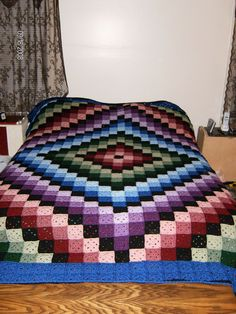 Ravelry: Around the World Quilt by Karen Buhr