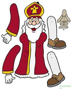 Creatief bezig zijn voor Sinterklaas op Sinterklaas.nl dat kan! We hebben namelijk vele tekeningen, knutselwerkjes en puzzels verzameld welke je kan gebruiken. Paper Puppets, Paper Toys, Paper Crafts, Twelve Days Of Christmas, Christmas And New Year, Diy For Kids, Crafts For Kids, Patron Saints, Dolls
