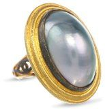 Azaara Gray Mother-Of-Pearl Ring -