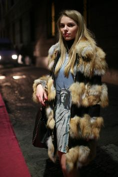 Valentino rockstud tote, American freedom...and fur