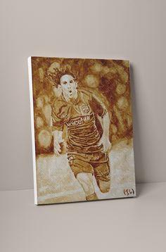 Large Canvas Prints, D1, Lionel Messi, Barcelona, Store, Natural, Artist, Painting, Larger