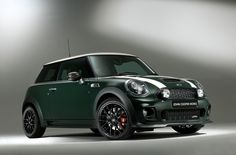 Want a Mini Cooper that looks at least a tad different from the typical set? Try the Mini Cooper JCW World Championship a special edition Mini to celebrate Mini Cooper S, Cooper Car, John Cooper Works, Steyr, Minis, Diesel, Engin, Small Cars, Classic Mini