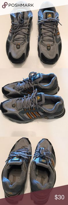 Euc Adidas traxion TR9 trail shoes Gently used , no tears holes rips nor stains .  Features sock like mesh unibody like nmd shoes , not typical tongue design. adidas Shoes Sneakers