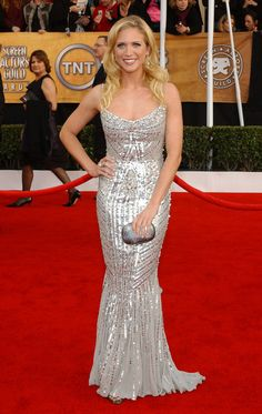Brittany Snow at the 2008 SAG Awards in Zuhair Murad