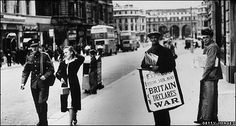 WW2 street & headline