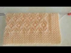 Lace Knitting Stitches, Baby Hats Knitting, Knitting Charts, Baby Knitting Patterns, Knitting Designs, Baby Patterns, Stitch Patterns, Knitted Hats, Crochet Patterns