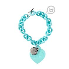 this is a bracelet! The silicone links are really unique and fun. Jewelry Crafts, Jewelry Box, Jewelery, Silicone Bracelets, Love Bracelets, Diamond Are A Girls Best Friend, Tiffany Blue, Girly Things, Passion For Fashion
