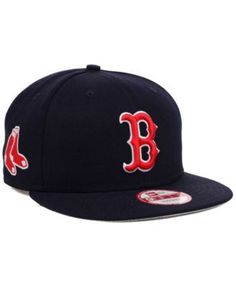 8e1cdb14baf New Era Boston Red Sox Mlb 2 Tone Link 9FIFTY Snapback Cap - Blue  Adjustable Boston