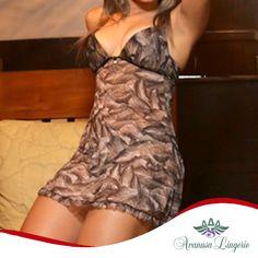 http://www.avanusalingerie.com.br Que tal essa camisola super fresca e confortável para uma noite perfeita