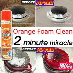 [S$14.90](▼49%)[Miracle] 2Min Ok / Orange Foam Clean / Removes all product contaminants / MADE IN KOREA / FDA