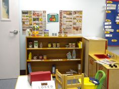 Classroom grocery stores are a great idea for teaching money even the older kids love it!