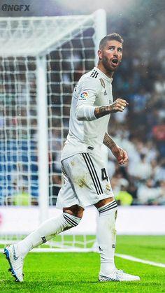 Sergio Ramos Real Madrid Football Club, Messi And Ronaldo, Sports Celebrities, Nikki Bella, Isco, Lionel Messi, Marvel Heroes, Football Players, Bad Boys