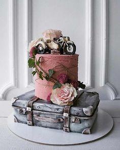 Cake Wrecks - Home - Sunday Sweets Spotlight: Elena Gnut Cakes Gorgeous Cakes, Pretty Cakes, Cute Cakes, Amazing Cakes, Crazy Cakes, Fancy Cakes, Pink Cakes, Fondant Cakes, Cupcake Cakes
