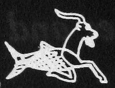 32. goat-fish  (Akkadian suḫurmašû),  Neo-Sumerian - Selekuid (and revived by the romans),  the water-god Enki/Ea  Read more: http://enenuru.proboards.com/thread/361/deities-ancient-mesopotamia-overview#ixzz4x42OOeZ9