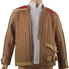 Kids Star Wars The Force Awakens Finn Jacket Coat Comic-con Halloween Cosplay Costume
