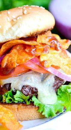 BBQ Crunch Burger
