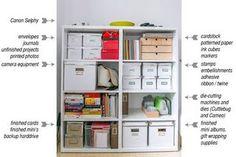 project supplies storage idea...