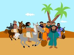 Free visuals: Joseph is reunited with his brothers and his father Jacob who had been told Joseph was dead. Genesis 43-46
