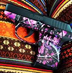 Ruger LCP 380, muddy girl edition !! Fire arms!! Amendment says it all! Know your rights!