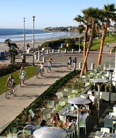 Ocean Front Boardwalk  #sandiego