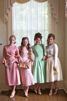 Modest apparel, bridesmaid dresses, classy little girls' party dresses, ruffles, lace, plus and girl's sizes. www.daintyjewells.com