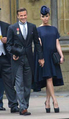 Pin for Later: Victoria Beckham hat eigentlich so viele Gründe zum Lachen Als sie bei der Hochzeit von Prinz William und Kate zu Gast war