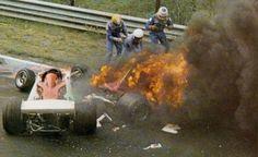 Niki Lauda's Crash at the Nürburgring Circuit in 1976