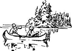 Canoeing clip art - vector clip art online, royalty free & public domain